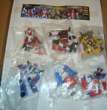 SR SERIES SUPER REAL FIGURE SUPER ROBOT COLLECTION  PART 5 SET COMPLETO - YUJIN