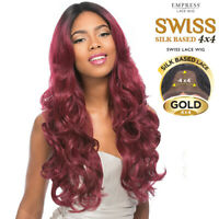 Sensationnel Synthetic Lace Front Wig Empress Edge 4x4 Swiss Silk Based Maryam