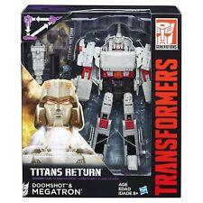 MEGATRON & DOOMSHOT (Leader Class Generations Titans Return)