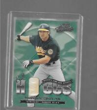 2001 Absolute - JOHNNY DAMON - Ball Hoggs Game Used Baseball - A's #d 145/150