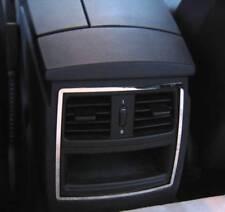 D BMW E60 E61 Chrom Rahmen für Lüftungsschacht hinten Edelstahl poliert