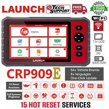 LAUNCH X431 CRP909E OBD2 Scanner Full System Car Diagnostic Scanpad Scanner Tool