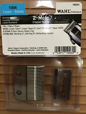 WAHL 2 HOLE CLIPPER BLADES FOR SENIOR/SUPER TAPER #1006
