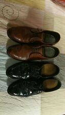 2 HEIGHT INCREASE SHOES 11 CUSTOM MADE WING TIP DRESS CASUAL INSOLES LEATHER