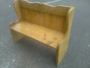 Monks bench pew