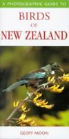 Photographic Guide to Birds of New Zealand by Moon, Geoff Paperback Book The