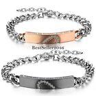 Bracelet Coeur Amour Amitié Couple Amoureux Saint-Valent Chaîne de Main Bijoux