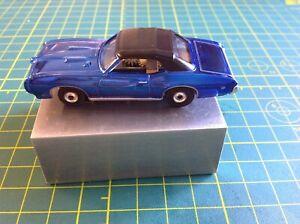 Johnny Lightning Pontiac GTO Convertible HO scale slot car