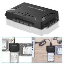 "2.5""/3.5"" Cable USB 3.0 to IDE & SATA Converter External Hard Drive Adapter Kit"