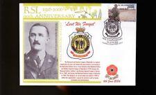 Rsl 90th Anniv Cover, Gallipoli Victoria Cross, Tubb