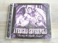 metalcore CD metal AVENGED SEVENFOLD Sounding the Seventh Trumpet * USA PRESS *
