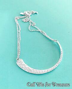 Robert Lee Morris RLM Soho Hammered choker necklace