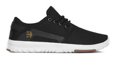 NIB ETNIES SCOUT SHOES 7.5 $60 Black Performance Durability Traction Rubber Pods