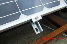 Paquete De 4 Soportes de finalización para Uni-Strut para adaptarse a los paneles solares PV