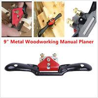 "9"" Metal Woodworking Blade Cutting Trimming Manual Planer Deburring Hand Tools"