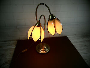Vintage Table Lamp -- Tulip Design