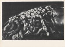 LEA GRUNDIG - TERROR * EAST GERMAN SMALL ww2 ART PRINT 1975
