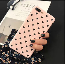 Love Heart Cell Phone Hard Protective Case Cover Fit For iPhone 6 7 Plus New