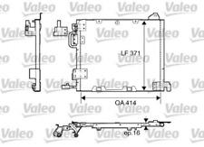 Kondensator, Klimaanlage für Klimaanlage VALEO 817506