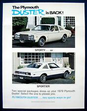 Prospekt brochure 1979 Plymouth Duster  (USA)