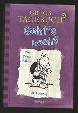 GREGS Tagebuch Band 5. Geht´s noch? Comic-Roman von Jeff Kinney.Gebundenes Buch
