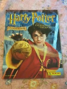 EMPTY ALBUM Panini Harry Potter and the Chamber of Secrets