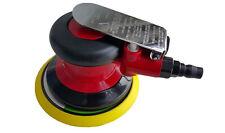 """Pneumatic 5"""" Air Power Pressure Random Palm Orbital Sander Tool Hook and Loop"""