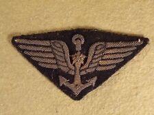 Vintage / Antique Bullion Naval Aviator / US France Navy Pilot Wings WWI WWII ?