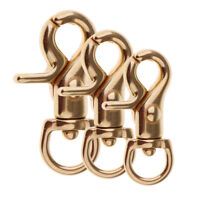 1pcs Gold Lobster Clasp Swivel Clasp Bag Key Ring Hook Findings Keychain DIY