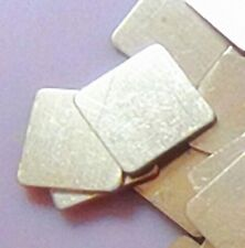 10pcs IC chipset PAD TERMICO DI RAME SPESSORE 20 x 20 x 0.8 mm