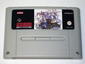 *PAL Version* FINAL FANTASY IV 4 English Translation For Super Nintendo SNES