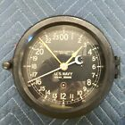 WW2 Era US Navy 24 HR CHELSEA Ships Clock,Bakelite Housing, SN 62398E, 412098
