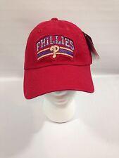 Philadelphia Phillies American Needle Red Baseball Hat Cap Distressed Logo - NWT