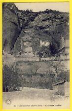 CPA 1900 Grand Bazar à Tours ROCHECORBON (Indre et Loire) La PIERRE TOMBÉE