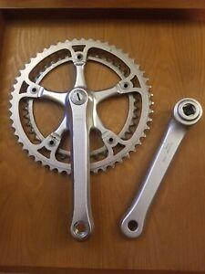 [152.4] Vintage  GIPIEMME  Crankset 170 52/42 Road Bike