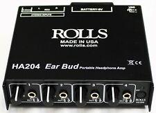 Rolls Portable Battery Operated Headphone Amp - HA204p