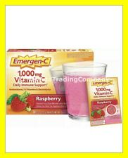 Emergen-C Immune SUPPORT 1000mg Vitamin C Plus B & Zinc 30 c Raspberry Drink Mix