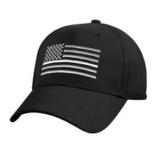 Thin WHITE Line US Flag Ball Cap EMS EMT Paramedic Fire Rescue Army Medic HM Hat