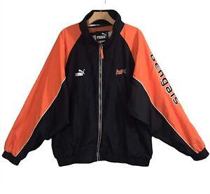 Puma Cincinnati Bengals NFL Jacket Size XL Embroidered