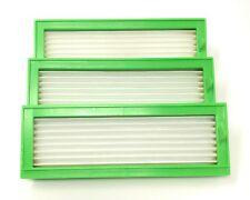 3 HEPA Allergie Effizienz  Filter passend für Vorwerk Kobold VR200