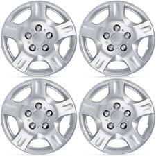 "4 PC Set 15"" Silver Hubcaps for Nissan Altima Replica Wheel Cover, Durable ABS"