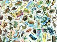 Reptiles on Stamps Collection - 100 Different Stamps