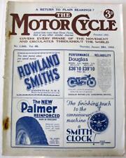 THE MOTOR CYCLE 28 Jan 1931 Original Motoring Motorcycle Magazine