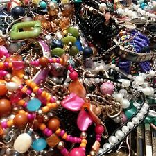Jewelry Lot 2 pound mixed items styles craft wear harvest salvage