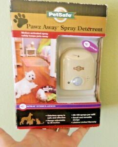 PetSafe PDT00-11312 Keep Away Spray Deterrent for Both Dogs And Cats new sealed
