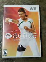 Nintendo Wii Wii Active Personal Trainer Complete w/ Manual