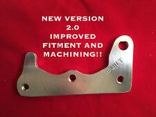 06-09 Suzuki LTR 450 LTR450 REAR BRAKE Conversion bracket twin piston caliper