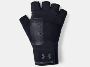 Under Armour Men's UA Weightlifting Gloves Half Finger Workout Gloves 1328621