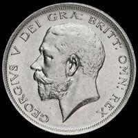 1917 George V Silver Half Crown, G/EF #2