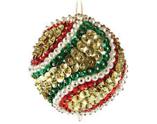 Pinflair Sequin & Pin Christmas Craft Kit - 2 Spiral Bauble Ornaments